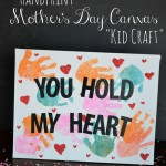 Handprint Mother's Day Gifts {Kid Craft}