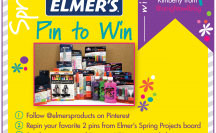 Pin to Win with Elmer's! Ends April 15th