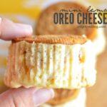 Mini Lemon Oreo Cheesecake