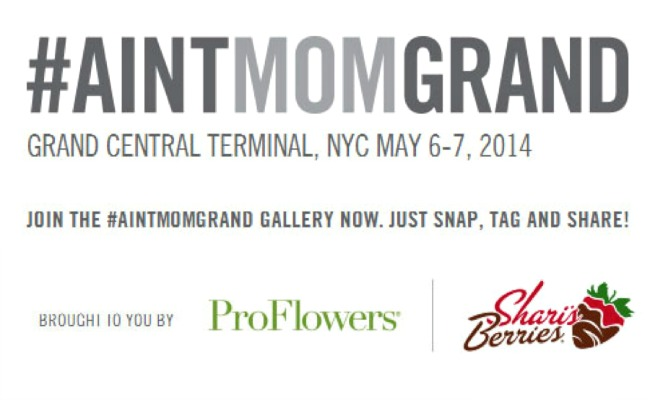 #AINTMOMGRAND - Snap, Tag and Share with ProFlowers and Shari's Berries!