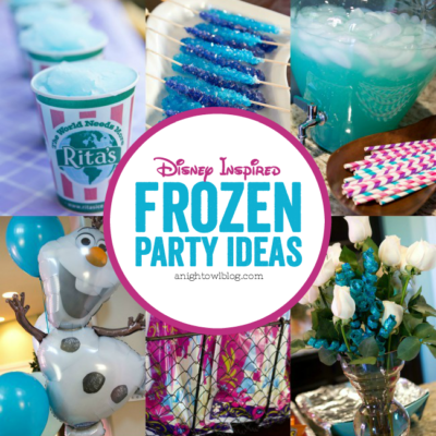 Do you and your kids love Disney's Frozen? Then you're going to LOVE these Disney Frozen Birthday Party Ideas!