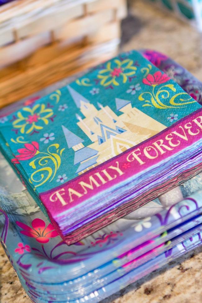 ... Pretty plates and napkins - Disney Frozen Birthday Party Ideas ...  sc 1 st  A Night Owl Blog & Disney Frozen Birthday Party Ideas | A Night Owl Blog