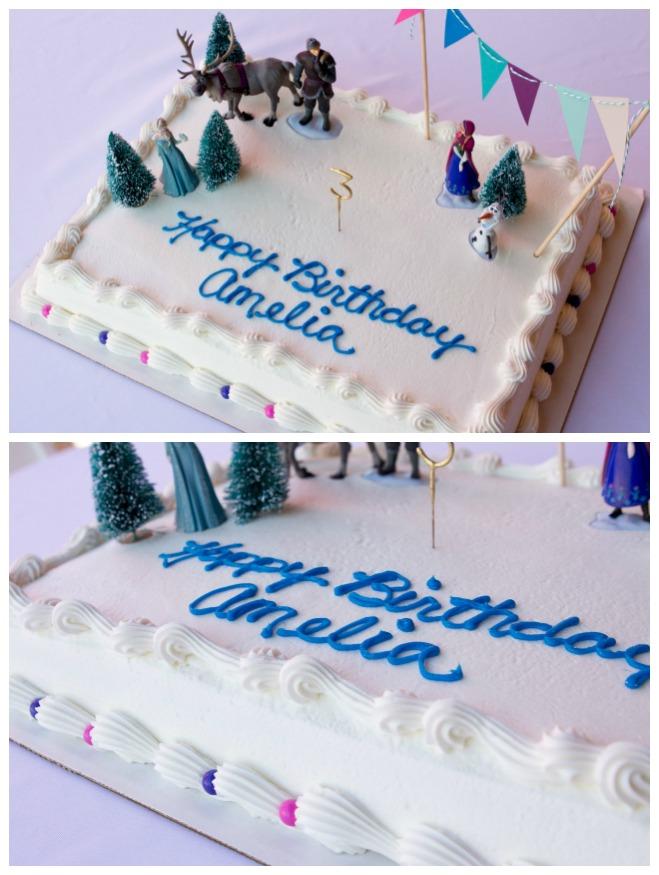 Frozen birthday cake Disney Frozen Birthday Party Ideas A Night