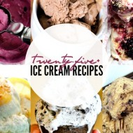 25+ Homemade Ice Cream Recipes