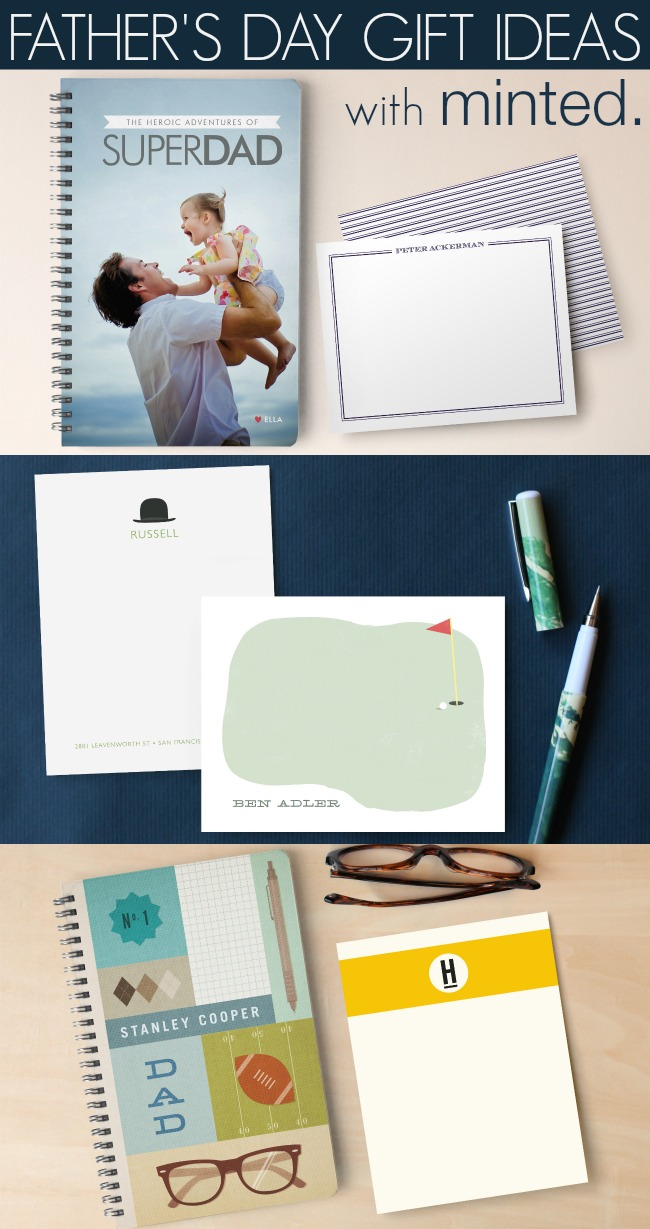 Unique Father's Day Gifts with Minted | A Night Owl Blog