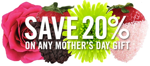 Save 20% on any Mother's Day gift with promo code GRAND20!