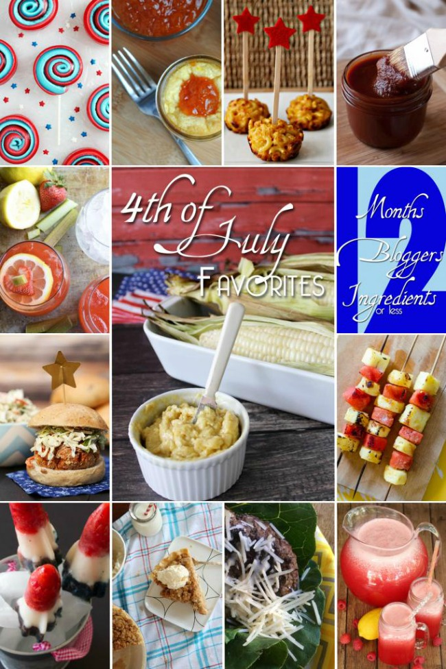 Fourth of July Favorites - drinks, treats and more!