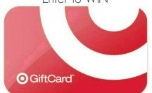 $100 Target Gift Card Giveaway!