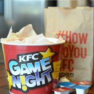 Family Game Night with KFC