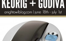 Enter to WIN a Keurig and Godiva Gift Basket at anightowlblog.com!