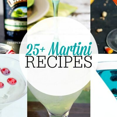 What a great list of Martini recipes!