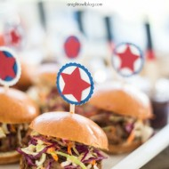 Patriotic Party Toppers