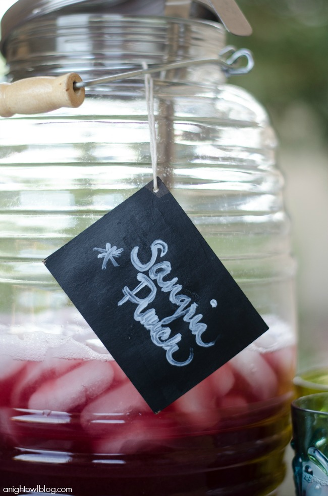 Sangria Punch - the perfect party drink!