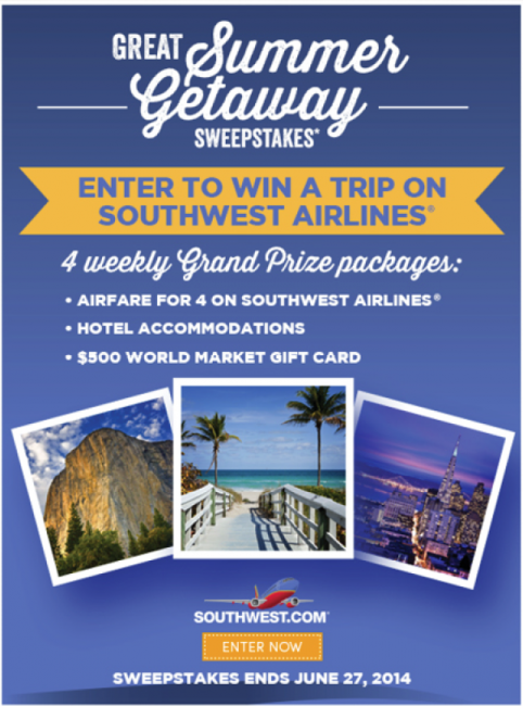 World Market Great Summer Getaway Sweepstakes! #SummerGetaway