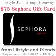 $75 Sephora Gift Card Giveaway