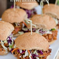 Simple Summer Meals with Byron's BBQ