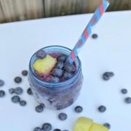 Pineapple Blueberry Margarita