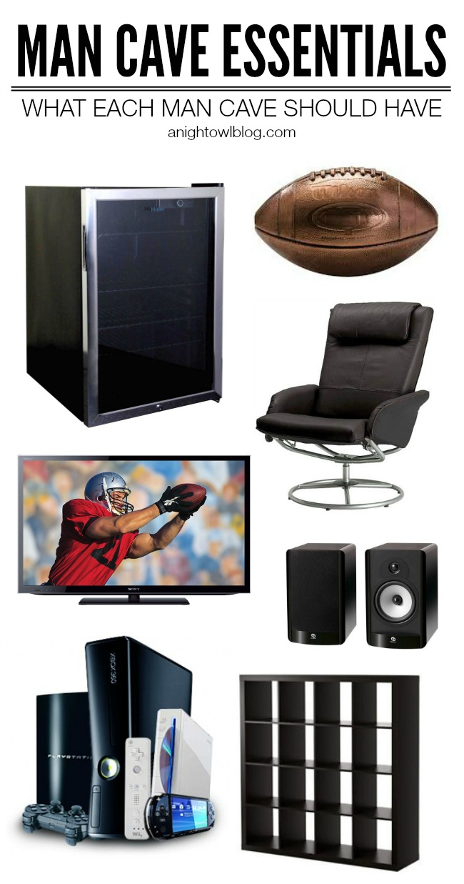 Man Cave Essential Items : Man cave essentials a night owl