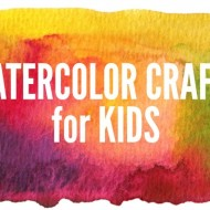 Wonderful Watercolor Crafts for Kids