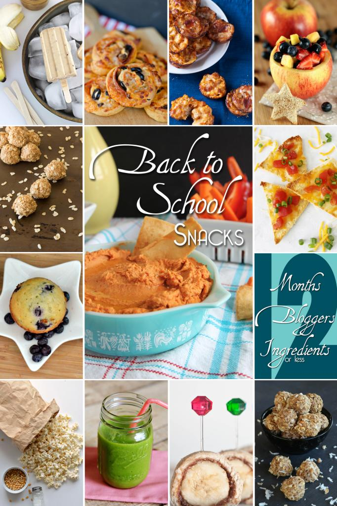 12 Back to School Snack Ideas from Pizza Pinwheels to Banana Roll-ups! #pinwheels #snacks