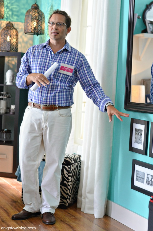 Max Wilker at the BHG Style Showcase | Better Homes and Gardens products available at Walmart