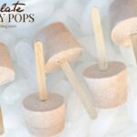 Chocolate Frosty Popsicles