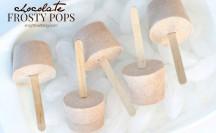 Chocolate Frosty Popsicles | anightowlblog.com