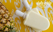 Dole Whip Popsicles | A Night Owl Blog