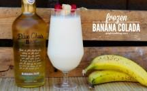 Frozen Banana Colada |anightowlblog.com
