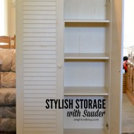 Stylish Storage with Sauder