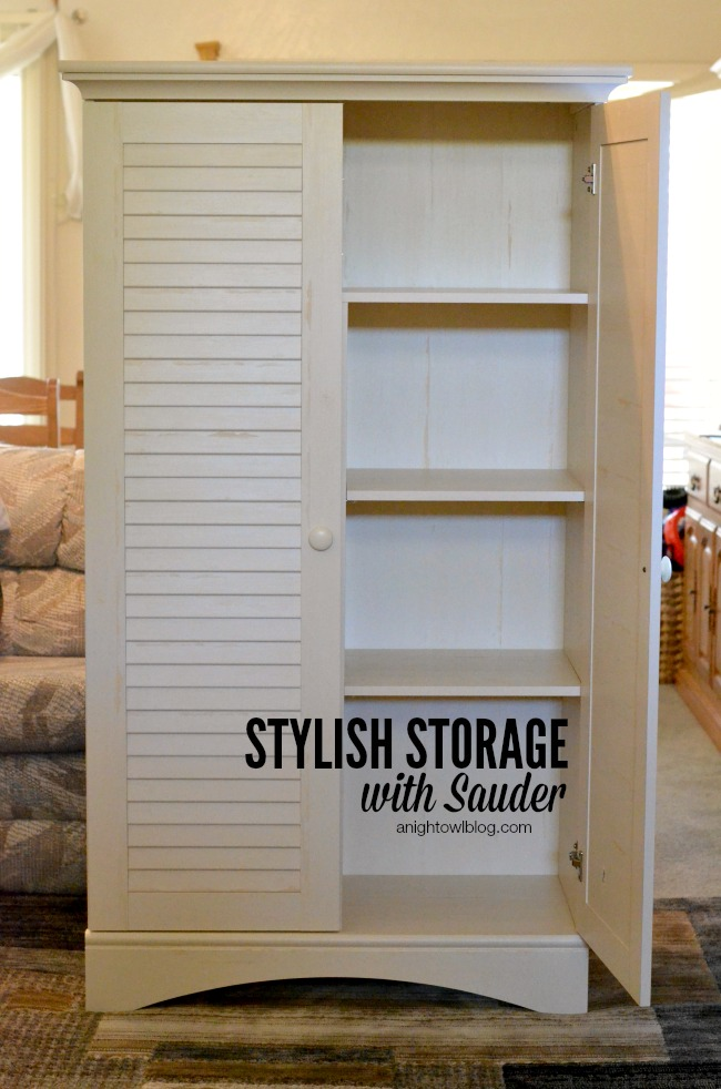 Stylish Storage with Sauder | anightowlblog.com