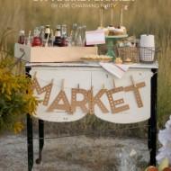 DIY Paper Pumpkins and More | Autumn Market