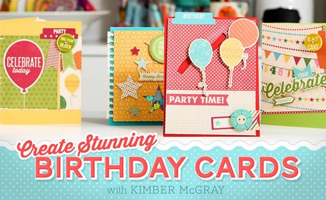 Create Stunning Birthday Cards With Craftsy A Night Owl Blog