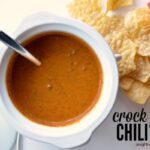 Crock Pot Chili Queso Dip