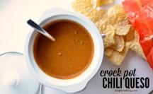 Crock Pot Chili Queso Dip | anightowlblog.com