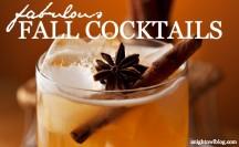 Fabulous Fall Cocktail Recipes | anightowlblog.com