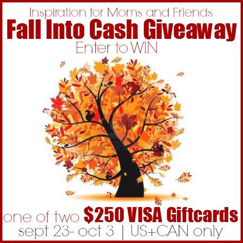 Fall Into Cash Giveaway | anightowlblog.com