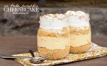 No Bake Pumpkin Cheesecake | anightowlblog.com