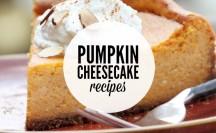 Pumpkin Cheesecake Recipes | anightowlblog.com