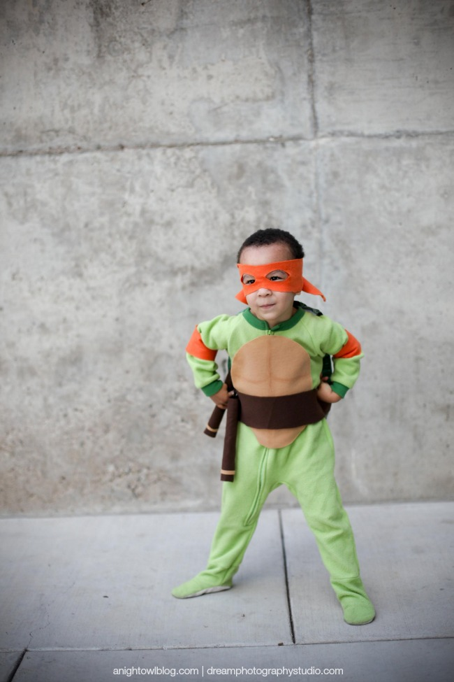 Easy teenage mutant ninja turtle costume a night owl teenage mutant ninja turtle 4 solutioingenieria Gallery