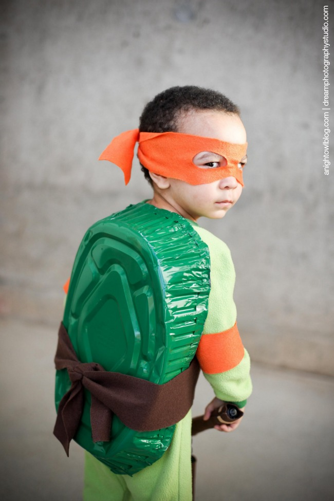 ... Easy Teenage Mutant Ninja Turtle Costume | anightowlblog.com ... & Easy Teenage Mutant Ninja Turtle Costume | A Night Owl
