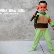 Easy Teenage Mutant Ninja Turtle Costume