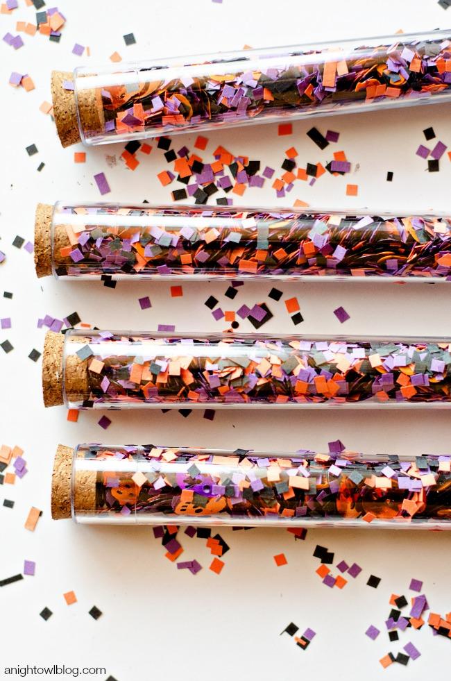 DIY Confetti Favors | anightowlblog.com