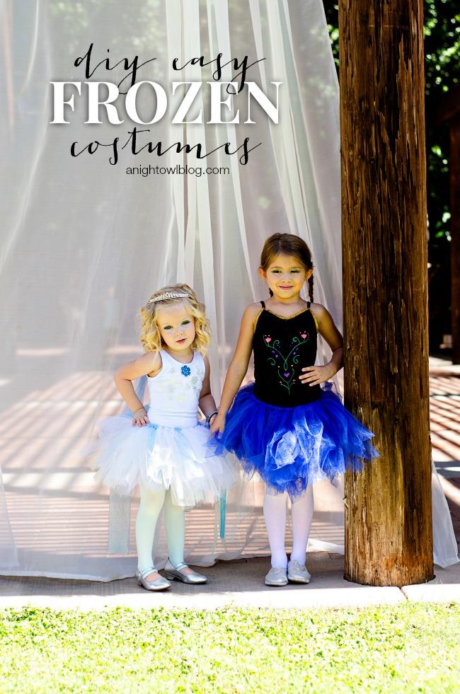 DIY Frozen Halloween Costumes