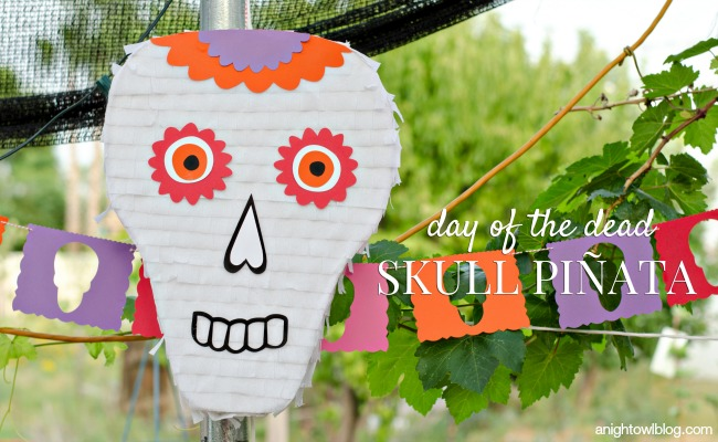 Day of the Dead Skull Pinata