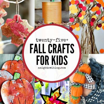 Fall Crafts for Kids | anightowlblog.com