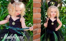 Easy No-Sew Maleficent Halloween Costume | anightowlblog.com