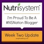 My Nutrisystem Journey | Week Two Update