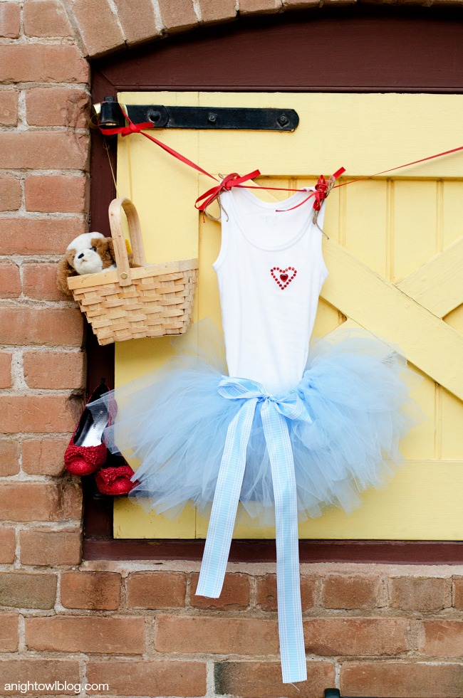 Wizard of Oz Dorothy Costume | anightowlblog.com