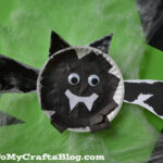 Halloween Bat Kids Craft